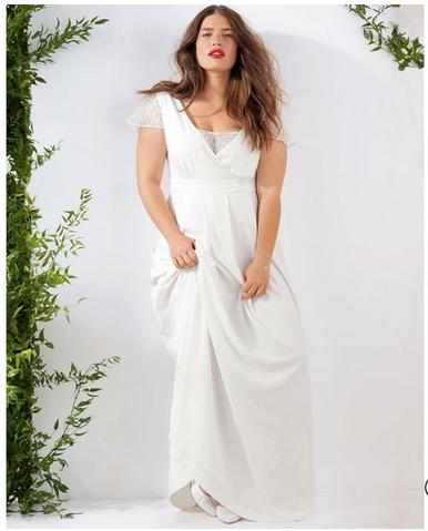 La robe longue grandes tailles