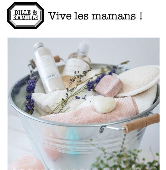 Voir les idées cadeaux chez Dille et Kamille.