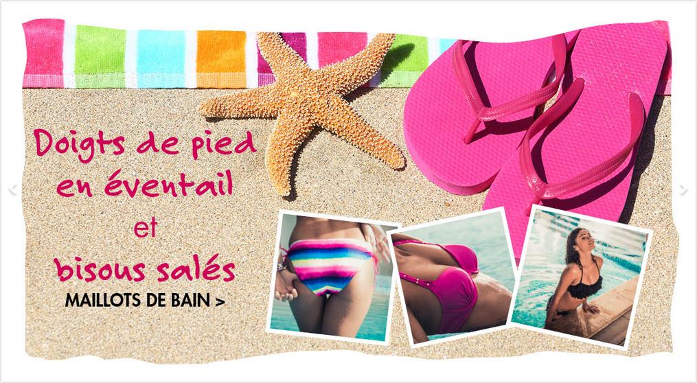 Préparez-vous pour la plage avec les maillots de bain Adam et Eve