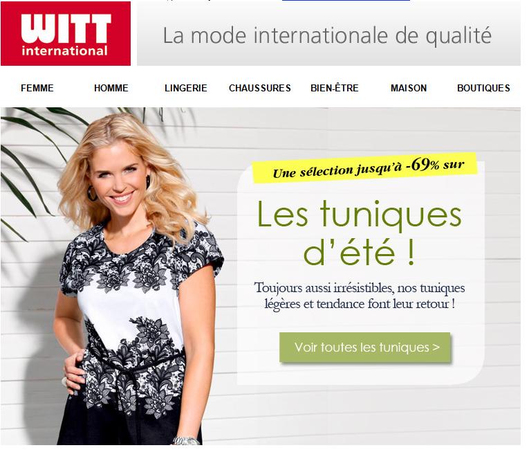 Jetez un oeil à la sélection WITT International