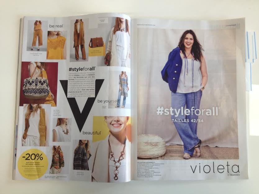 La collection Violeta by Mango