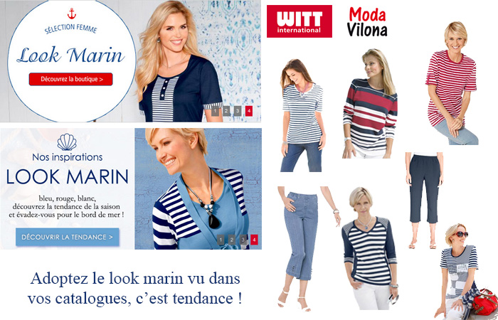 Avec WITT International et Moda Vilona, adoptez le look marin !