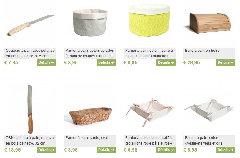 Découvrez tous les articles sur le pain dans la boutique Dille & Kamille.