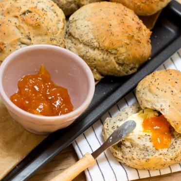 Du pain, du beurre et de la confiture...
