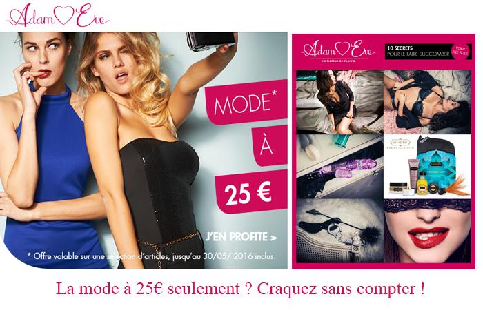 La collection mode femme à 25€. Profitez-en vite !