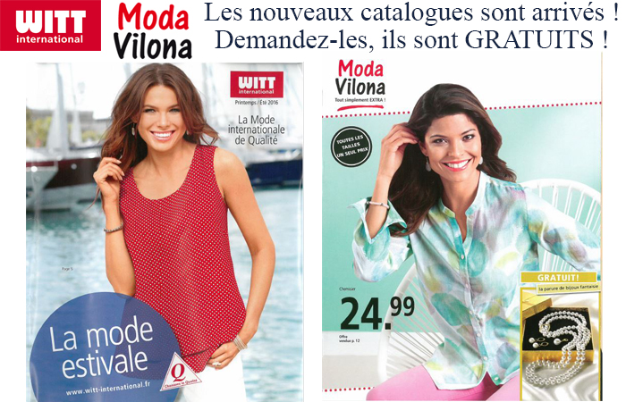 Moda Vilona Witt International Nouveau Catalogue Ete