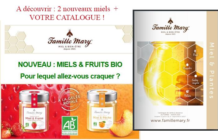 Découvrez votre catalogue et les nouveaux miels !