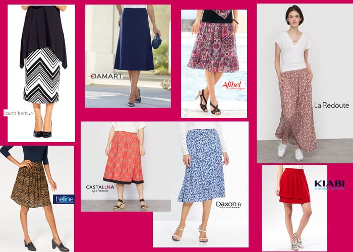 Les mini-jupes, de toutes les couleurs, de toutes les formes !