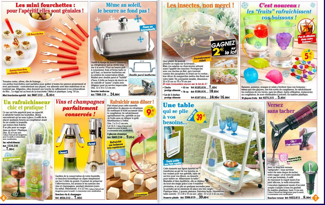 Des accessoires et ustensiles pour vous faciliter la vie !