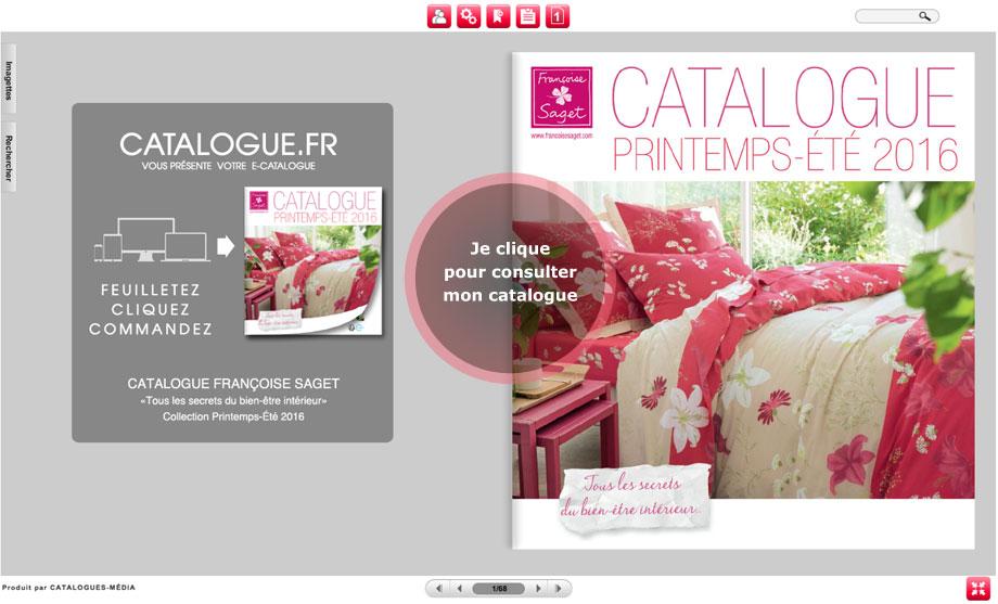 Catalogue Francoise Saget Linge De Maison