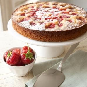 Recette du cake aux fraises avec Dille et Kamille et catalogues.fr