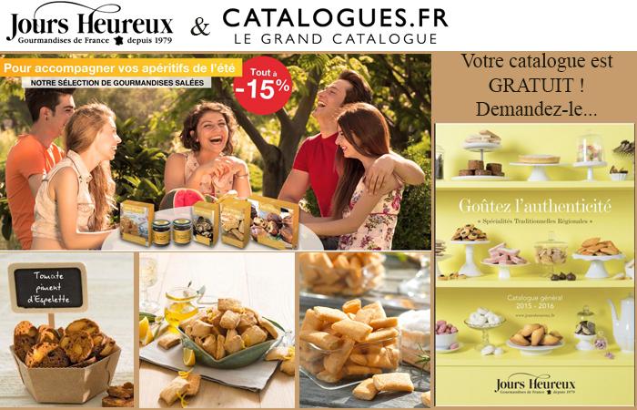 Demandez votre catalogues jours Heureux gratuitement !