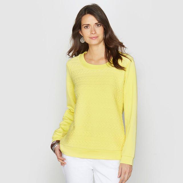 Le top jaune pour mettre un peu de couleur