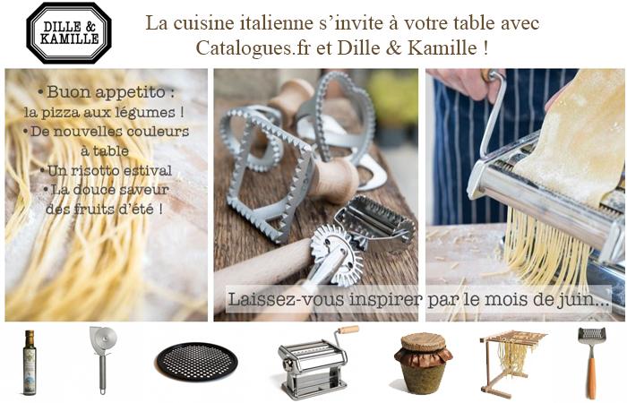 Avec Dille et Kamille, la cuisine italienne s'invite à votre table !