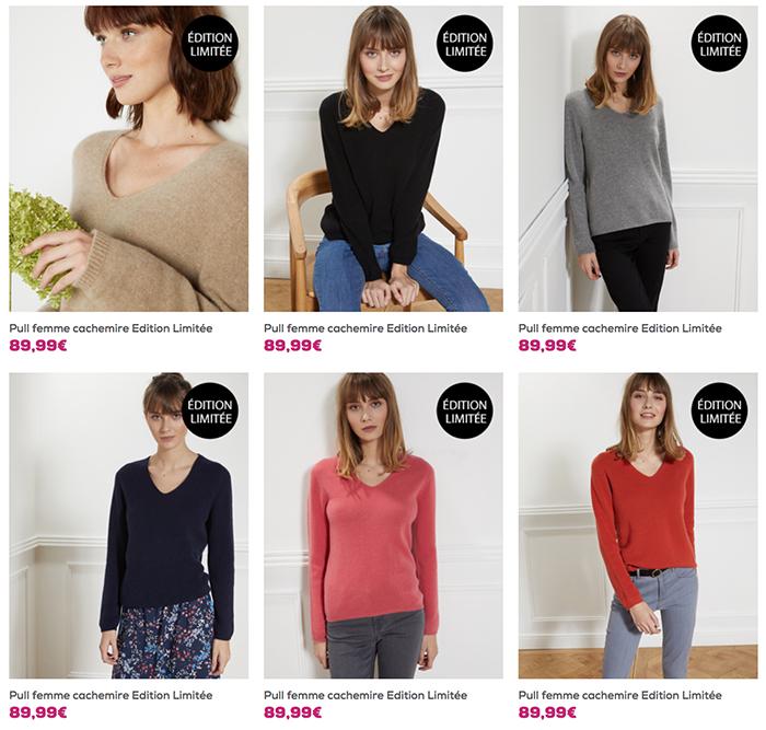 Cliquez ici pour voir tous les modèles femme en édition limitée