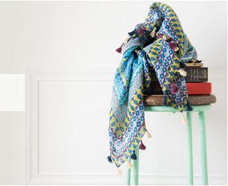 Etoles, foulards... tout ce qu'il faut pour compléter votre look !