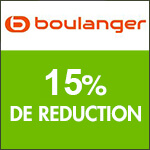Boulanger : -15% sur les accessoires