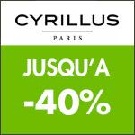 CYRILLUS : LES TRIBUS DAYS JUSQU'À -40%