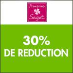 Françoise Saget : -30%  sur une sélection de lingerie