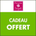 Françoise Saget : Nouveau Cadeau pour toute commande