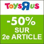 TOYS'R'US : 1 JOUET VTECH BABY ACHETÉ = LE 2E À -50%.
