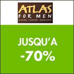 Atlas for Men : jusqu'à -70% sur les lots !