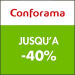 CONFORAMA offre 50 ans : de -30% à -40% sur une sélection d'articles !