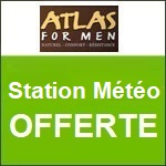 Atlas for Men : une station météo offerte !