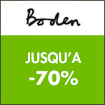 Boden : Déstockage jusqu'à -70% !