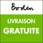 Boden : livraison gratuite dès 49€ d'achat.