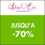 Adam et Eve : Jusqu'à -70% !