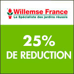 Willemse International : -25% sur une sélection d'arbustes de haie
