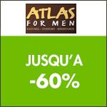 Atlas for Men : économisez jusqu'à -60% sur toute la collection !