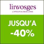 Linvosges : jusqu'à -40% sur sélection d'articles.