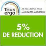 Tous Ergo : Economisez -5% dès 80€ d'achat !