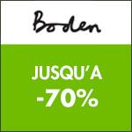 Boden : jusqu'à -70%.