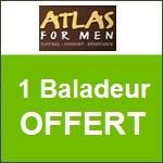 Atlas for Men : un baladeur radio offert