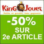 King jouet : -50% sur sélection Sophie la girafe.