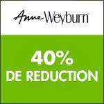 Anne Weyburn : profitez vite de -40% sur les chaussures !