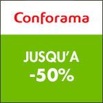 Conforama : jusqu'à -50% sur les parasols et les voiles d'ombrage !