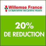 Willemse international : -20% sur les plantes vivaces
