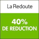La Redoute : -40% sur votre commande.