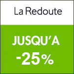 La Redoute : -25% sur petit électroménager et beauté.