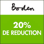 Boden : -20% sur la boutique pochette surprise !
