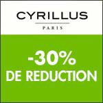 Cyrillus : -30% sur votre article préféré !