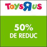 Nerf : 50% remboursé dès le premier achat chez Toys'R'Us