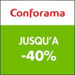 Conforama : jusqu'à -40% sur les séjours