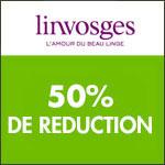 Linvosges, -50% sur les prix en fête