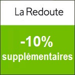 La Redoute : -30% supplémentaires sur la mode