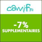 Camif : -5% supplémentaires sur les produits Français !